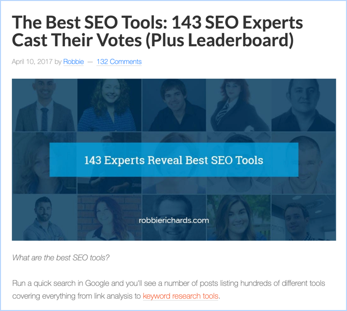 How To Create An Expert Roundup Post (7 Easy Steps) 2