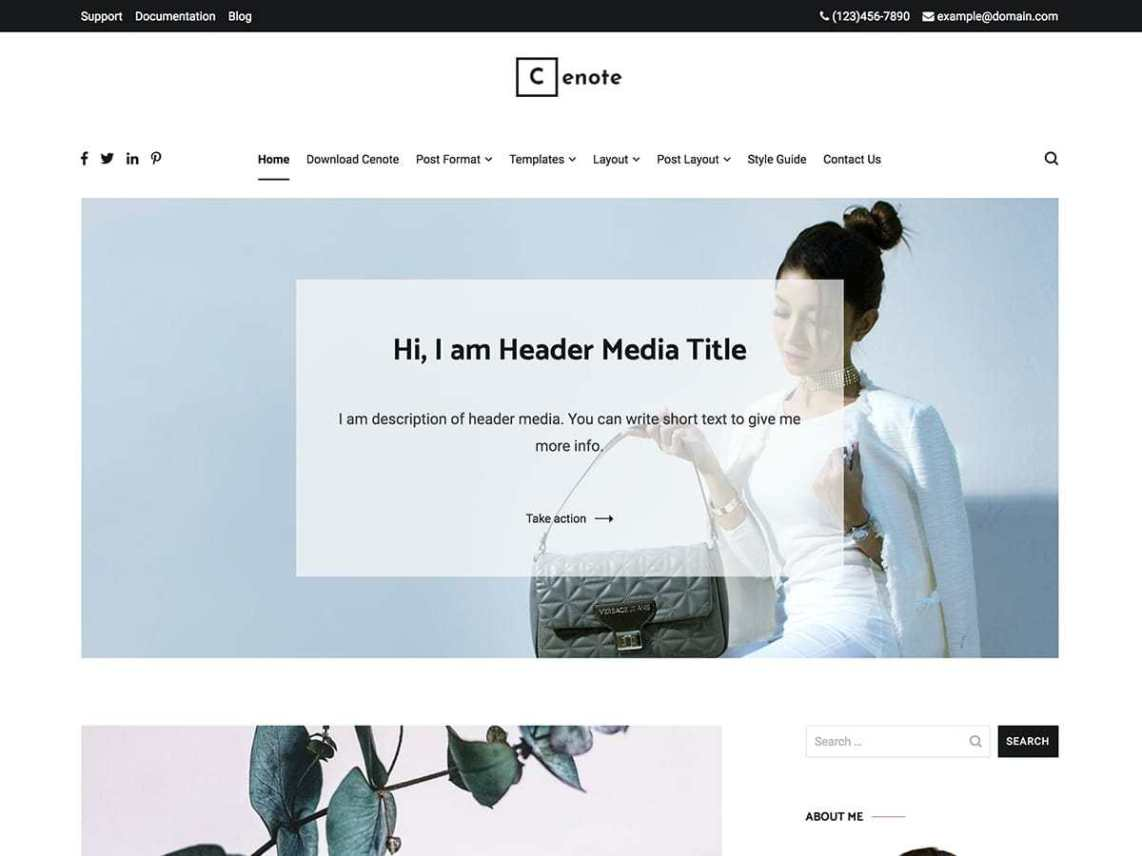 30+ Best FREE WordPress Themes for Writers (2020) 15