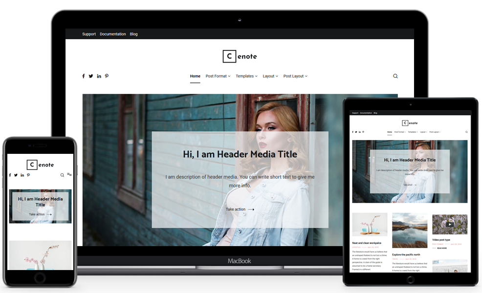 40 Best FREE WordPress Themes For Blogging (2020) 6