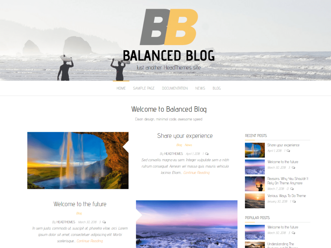 40 Best FREE WordPress Themes For Blogging (2020) 27