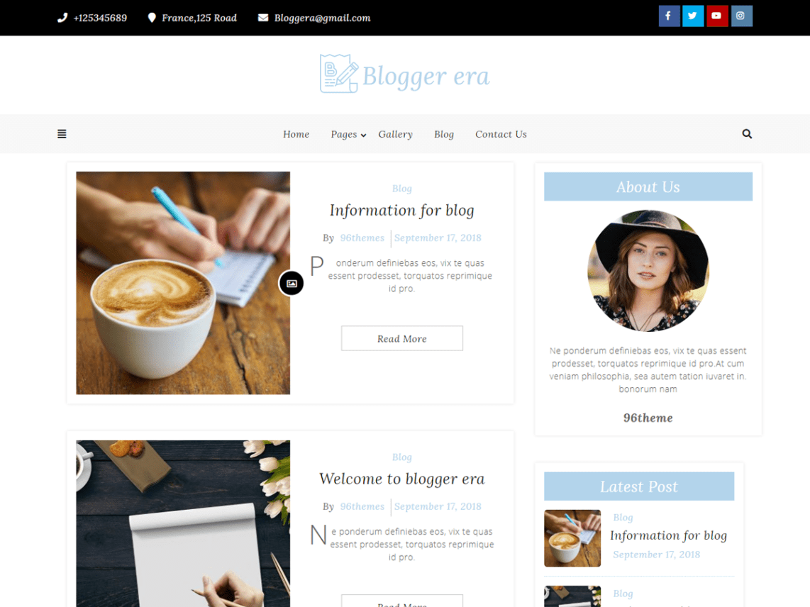 40 Best FREE WordPress Themes For Blogging (2020) 32