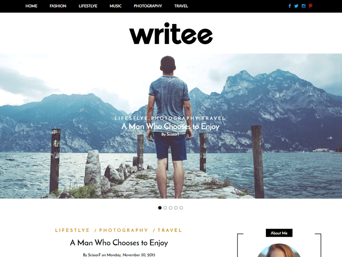 30+ Best FREE WordPress Themes for Writers (2020) 12