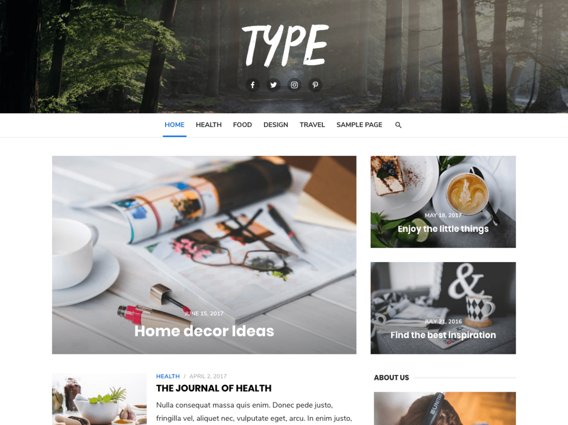 30+ Best FREE WordPress Themes for Writers (2020) 19