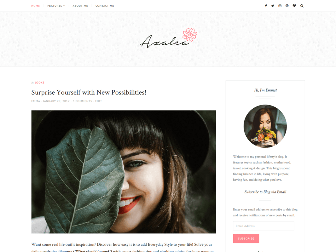30+ Best FREE WordPress Themes for Writers (2020) 28