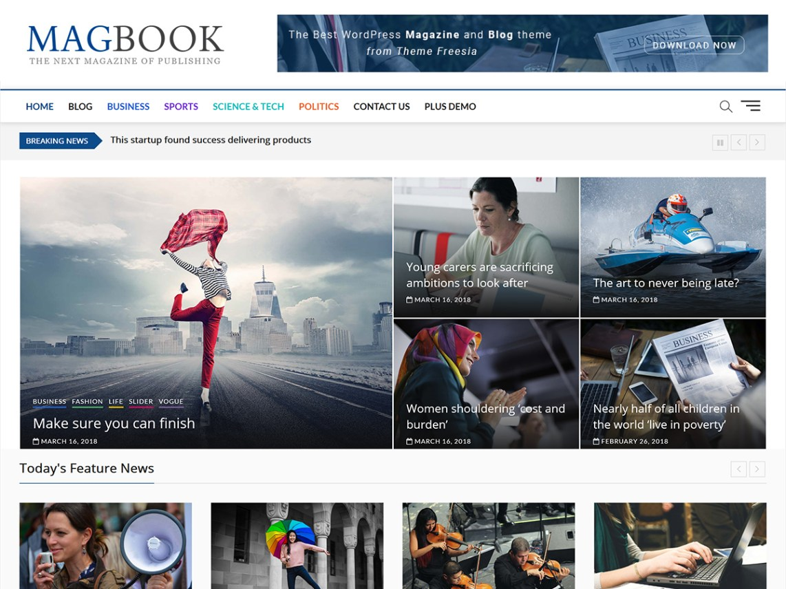 40 Best FREE WordPress Themes For Blogging (2020) 38