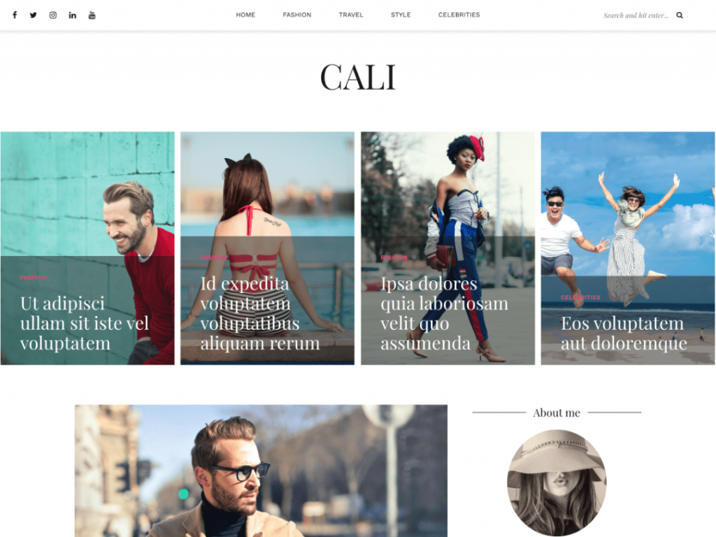 30+ Best FREE WordPress Themes for Writers (2020) 14