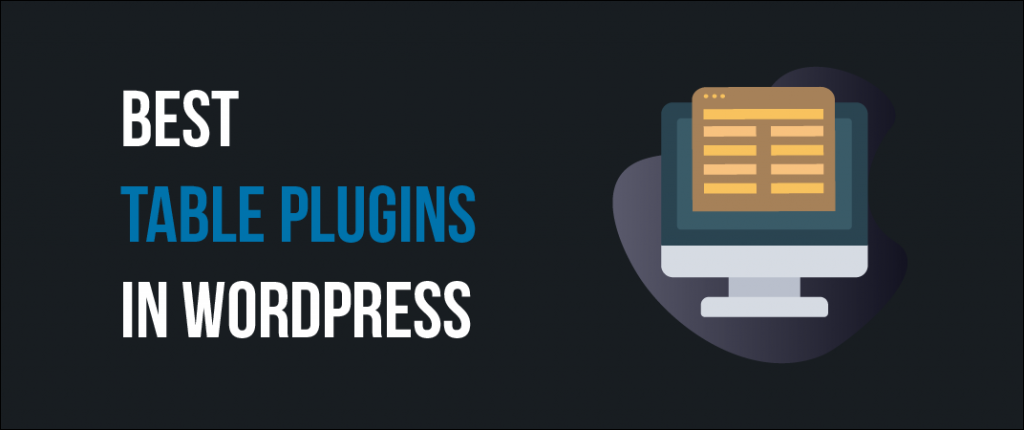 7+ Best WordPress Table Plugins (Beautiful & Responsive) 1