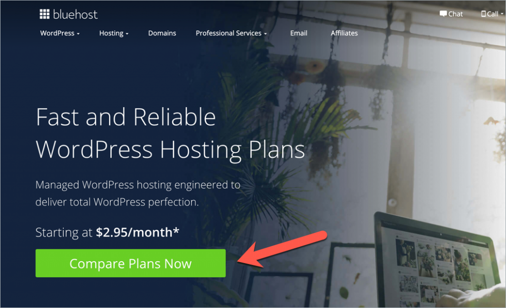 How to Start A WordPress Blog On Bluehost 2