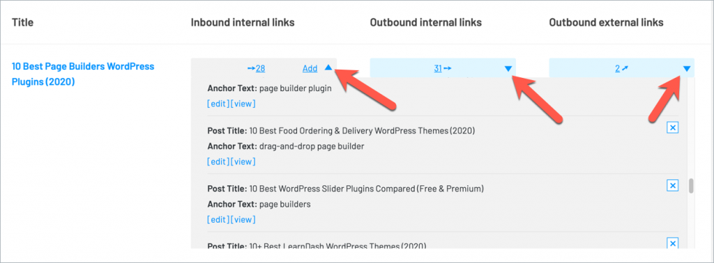 How to Manage All Internal & External Links In WordPress 5